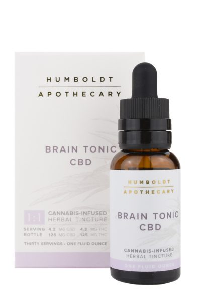 Humboldt Apothecary Brain Tonic CBD Cannabis Tincture