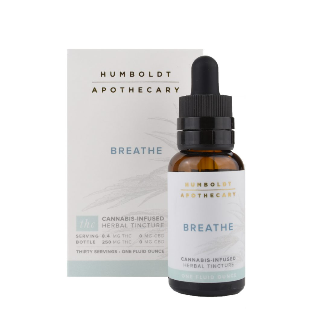 Humboldt Apothecary Breathe Cannabis Tincture