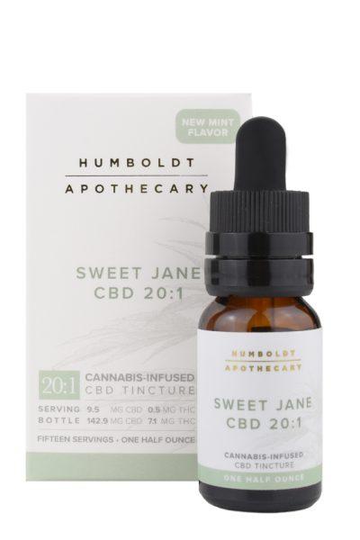 Humboldt Apothecary Sweet Jane CBD Cannabis Tincture