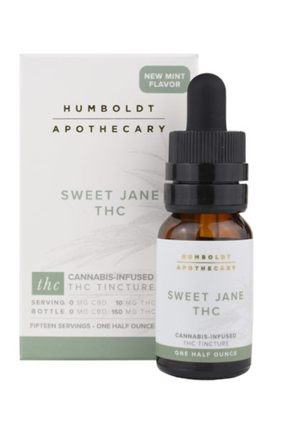 Humboldt Apothecary Sweet Jane THC Cannabis Tincture