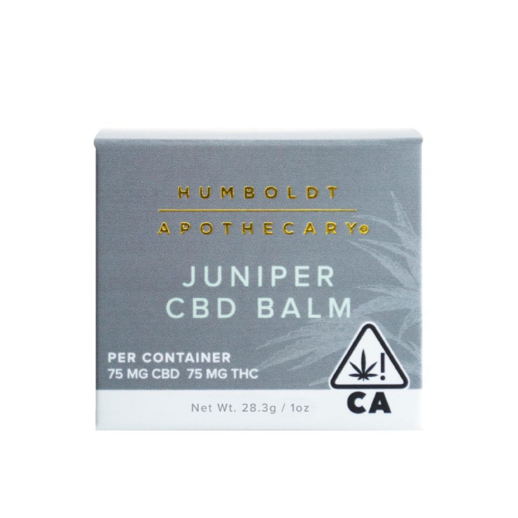 Humboldt Apothecary Juniper CBD Topical Balm