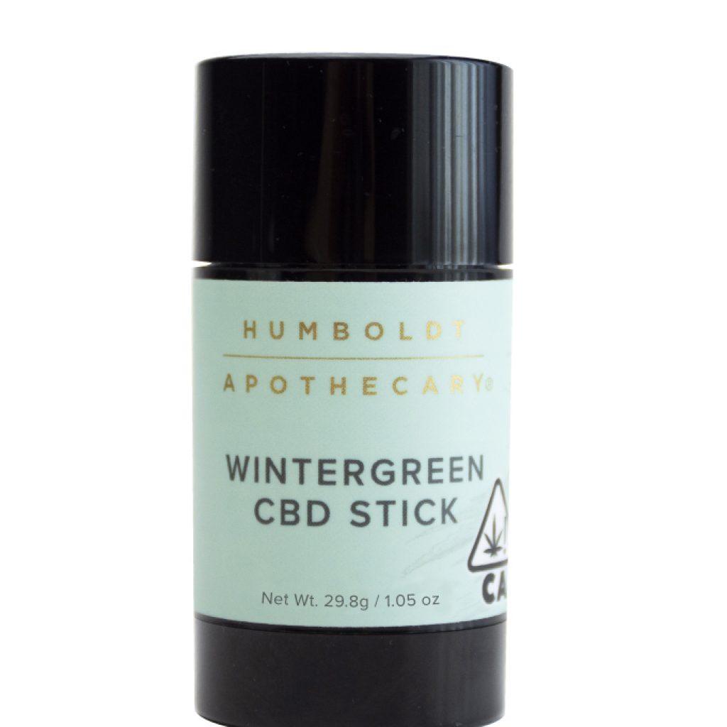 Humboldt Apothecary Wintergreen CBD Topical Salve Stick