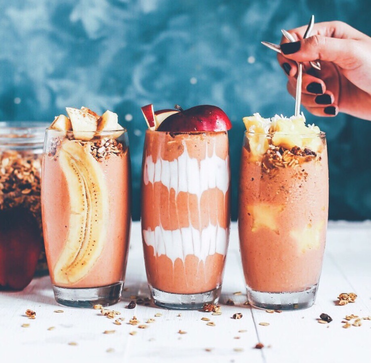Cocoa Banana Smoothie Featuring Humboldt Apothecary CBD Cannabis Tinctures