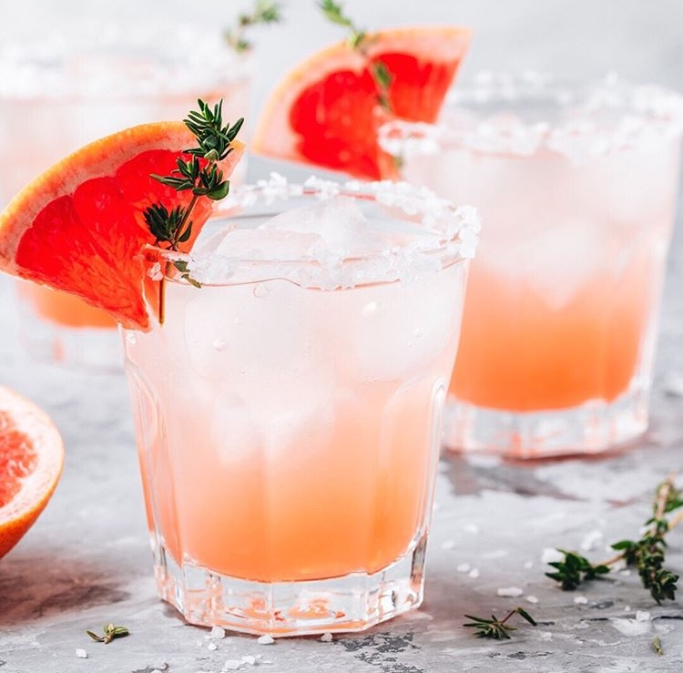 A Grapefruit Tonic Mocktail Featuring Humboldt Apothecary Uplift CBD Cannabis Tincture
