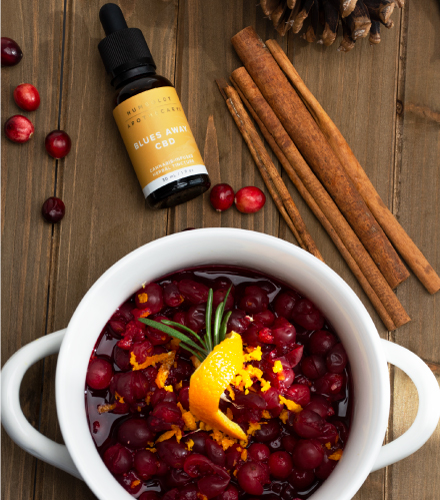 CBD Cranberry Sauce