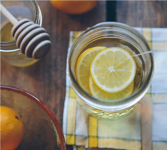 Lemon tea immune booster recipe