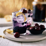 Blueberry Cherry Spritzer