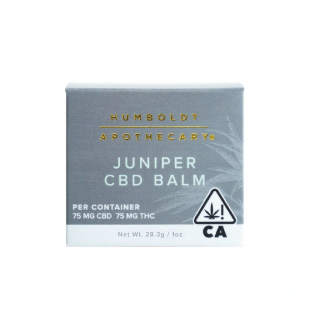 Juniper CBD Balm Box